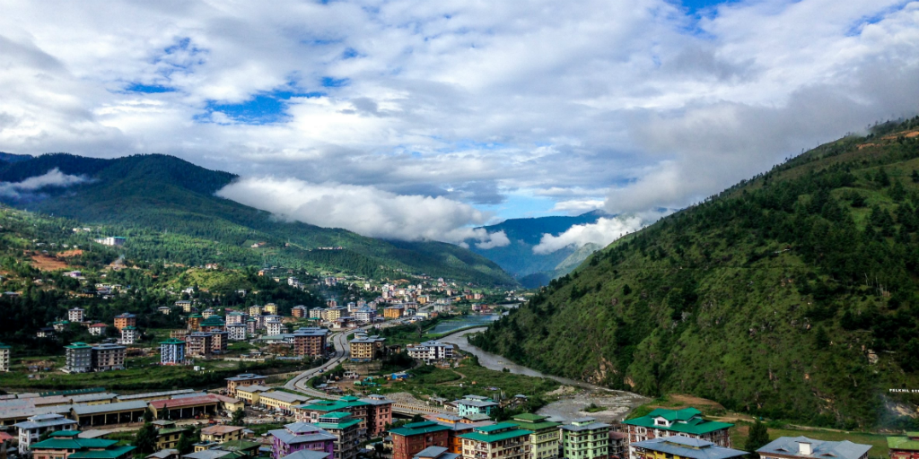 Bhutan travel let's you see how it manages to be carbon-negative.