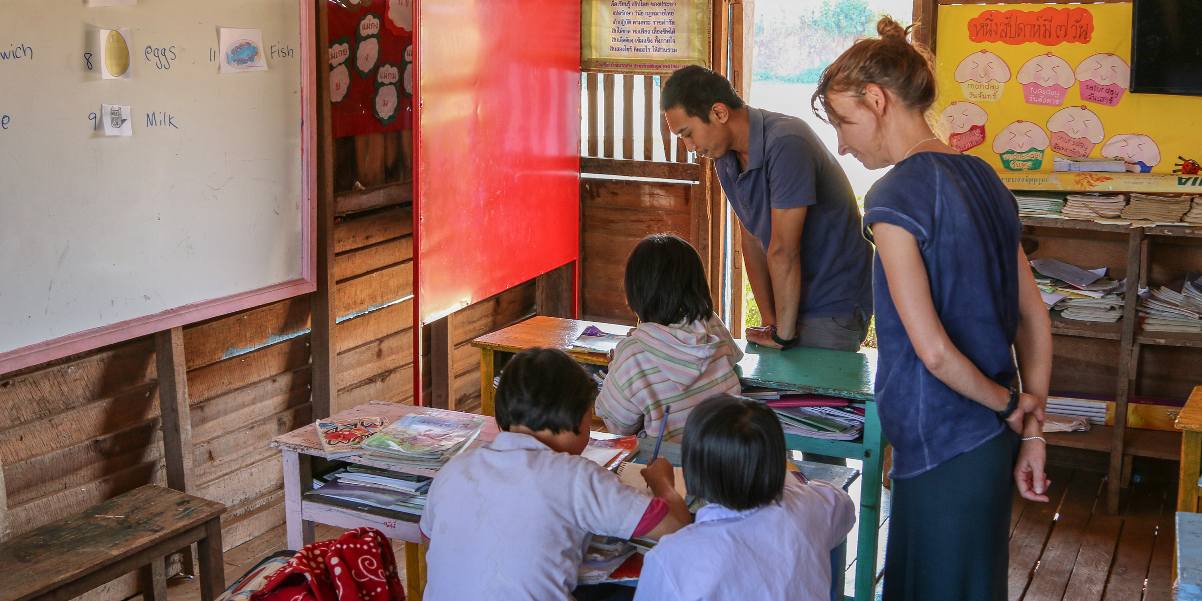 volunteer work with children