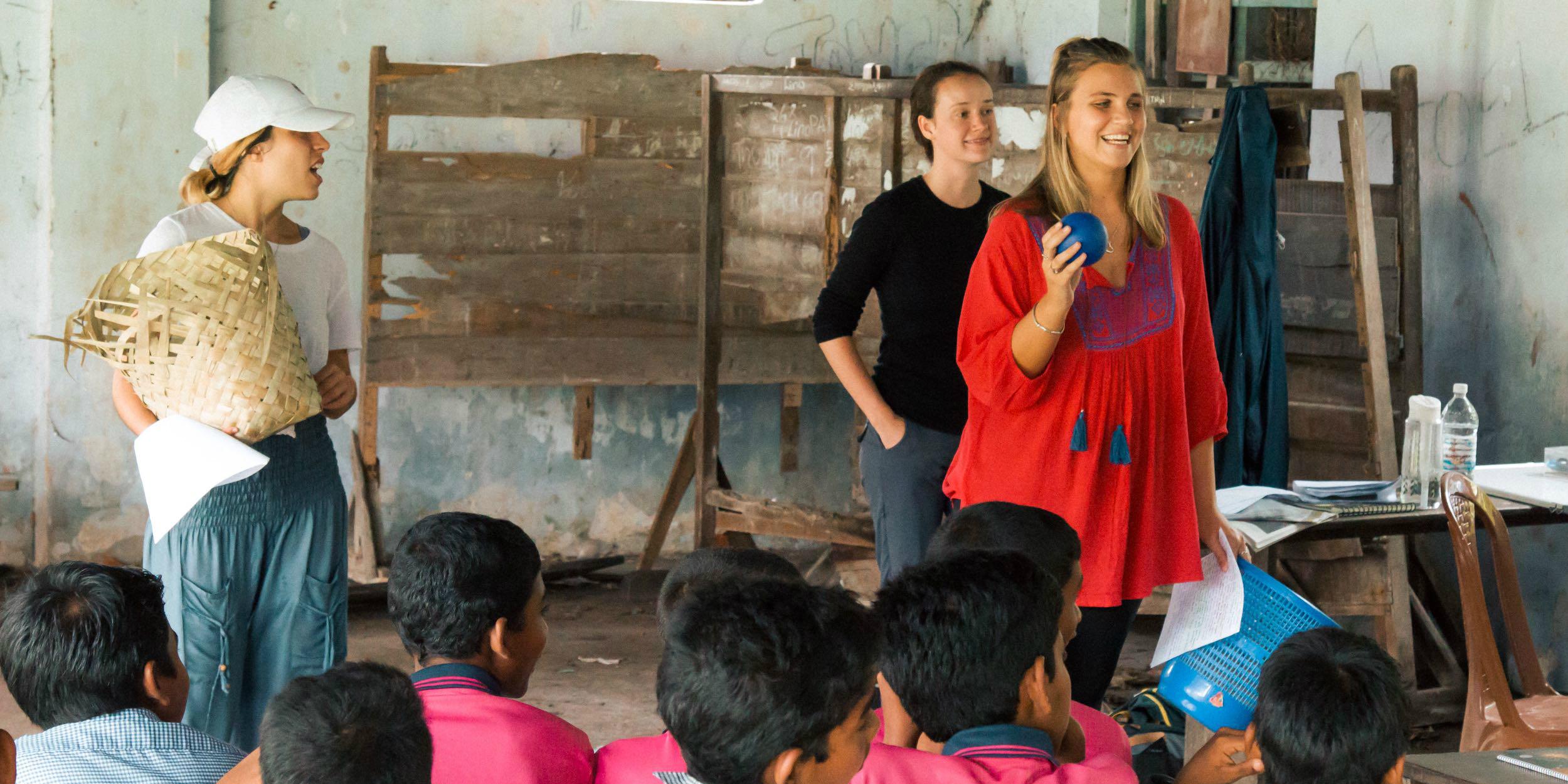 teaching internship abroad