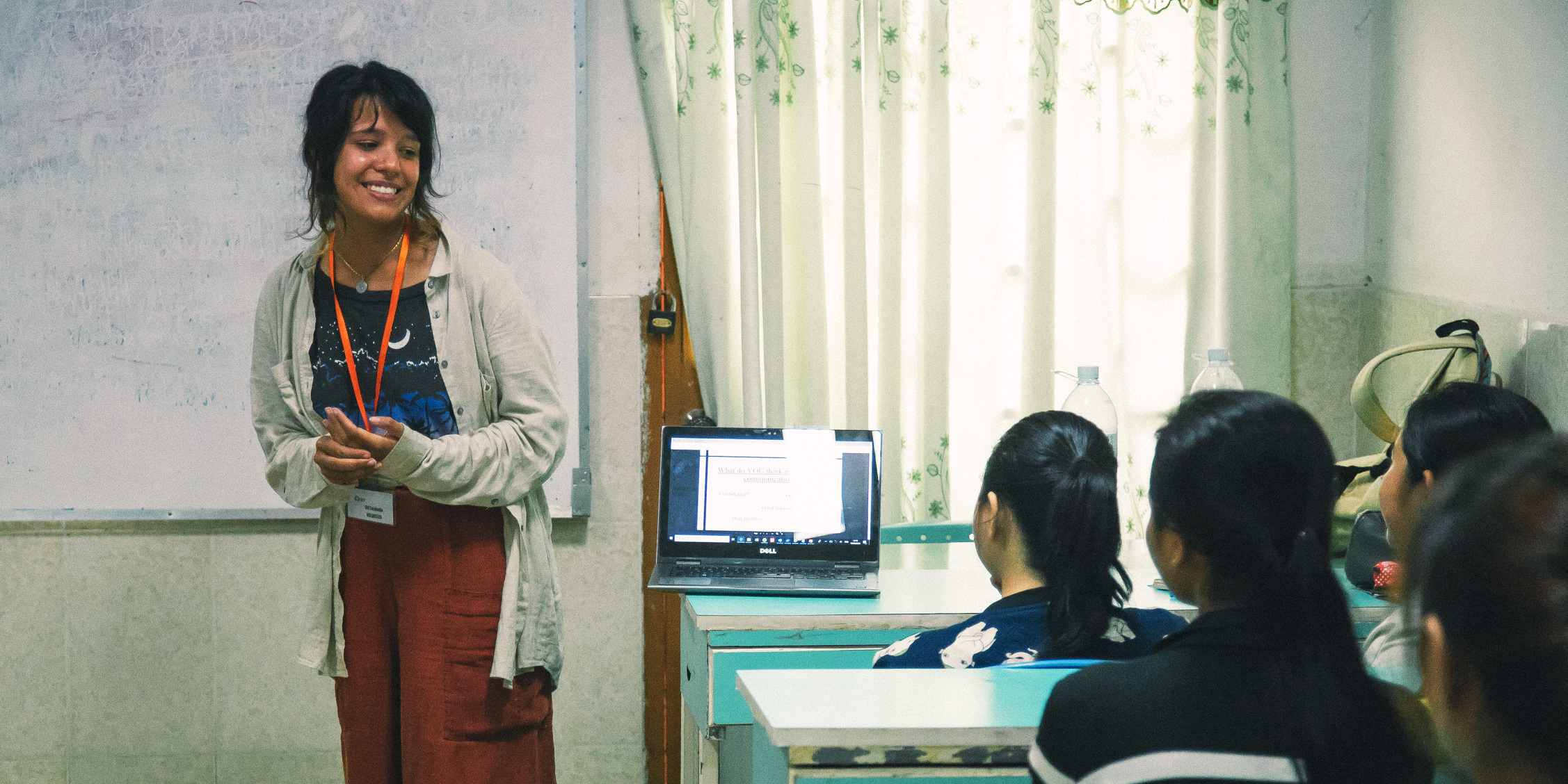 While taking a gap year, a GVI participant learns to structure and deliver a first-rate English language lesson.
