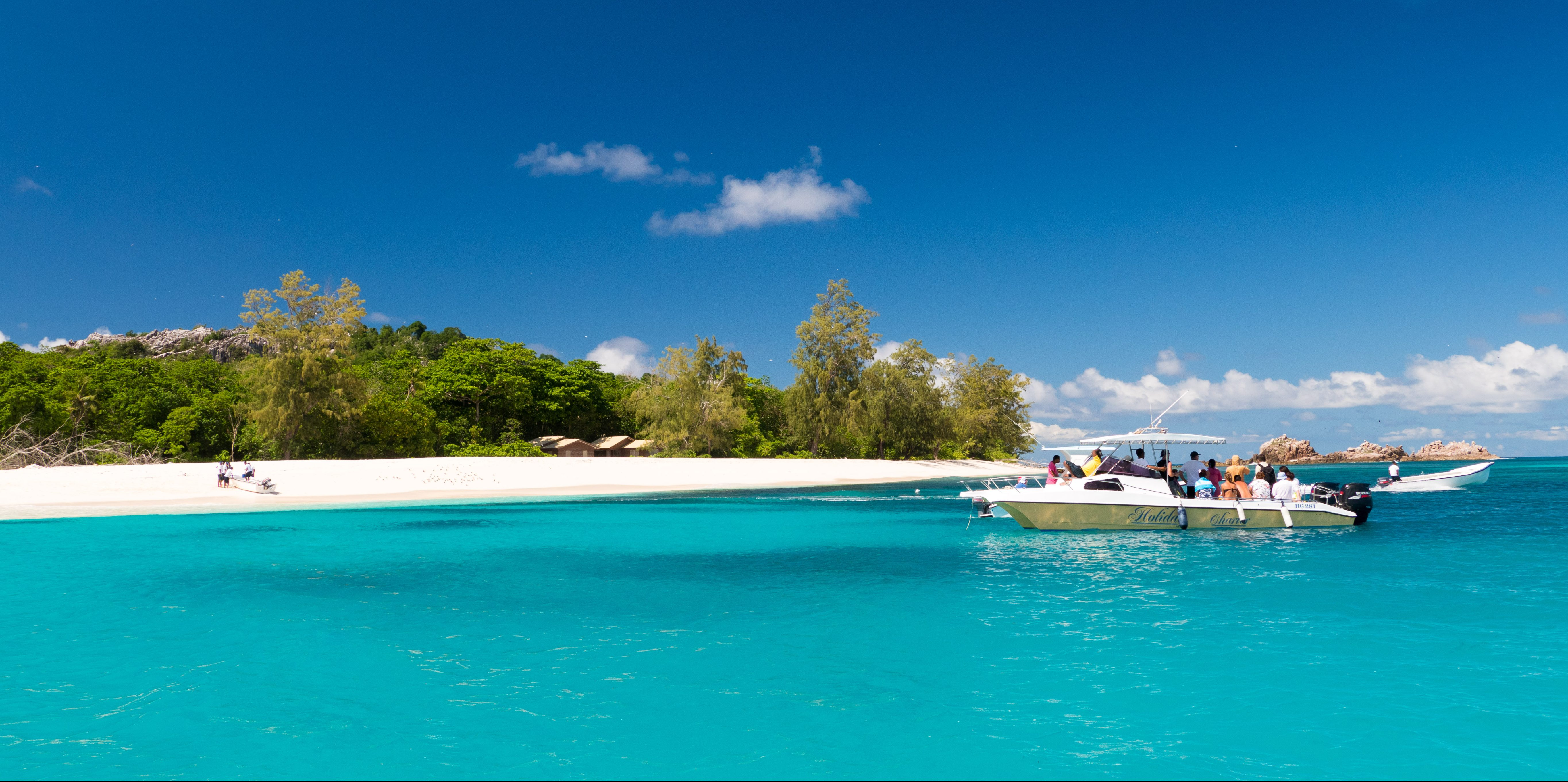 Visitors to Bird Island, in the Seychelles archipelago, are often wildlife conservation officers and conservation volunteers.