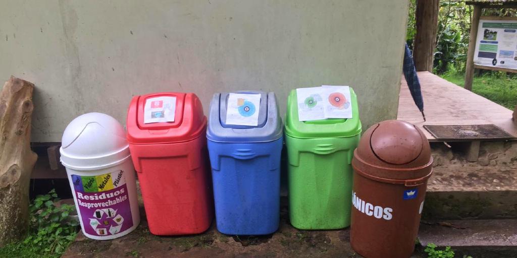 GVI recycling station