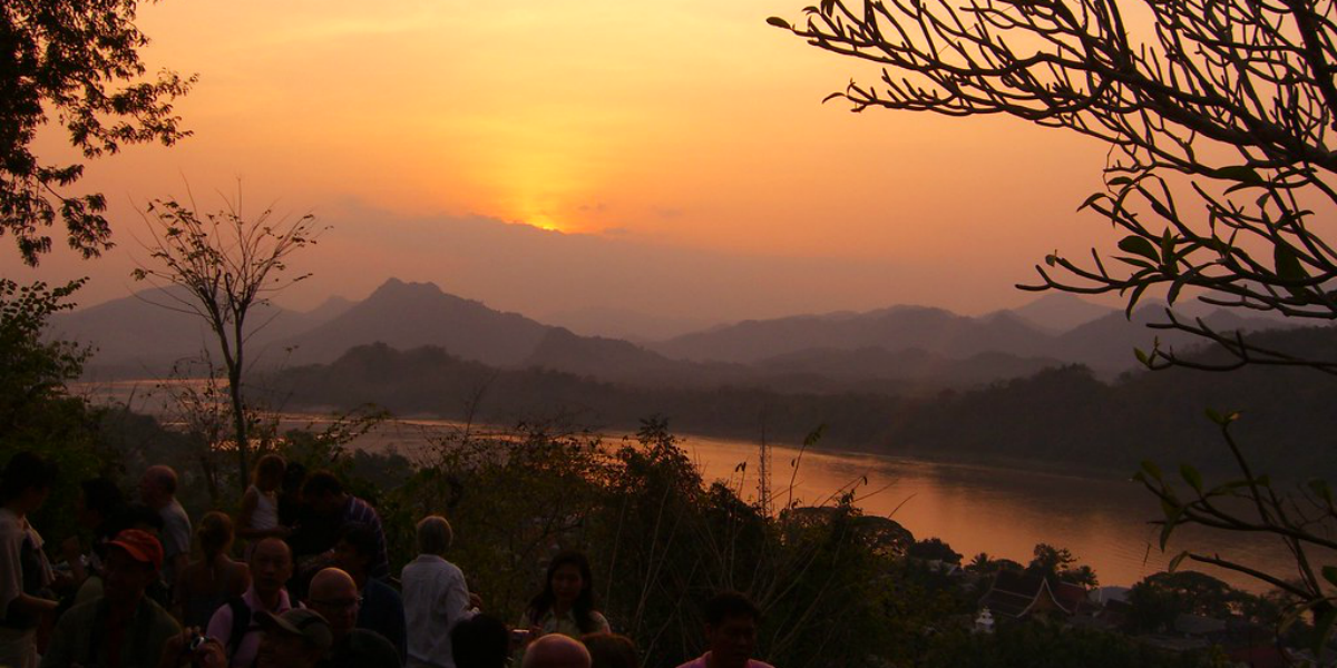 hiking in luang prabang