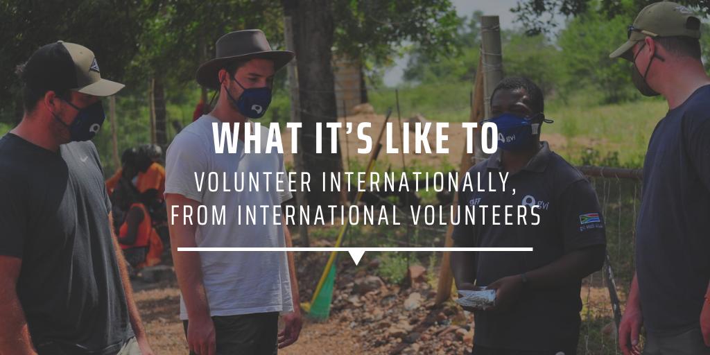 What it's like to volunteer internationally, from international volunteers