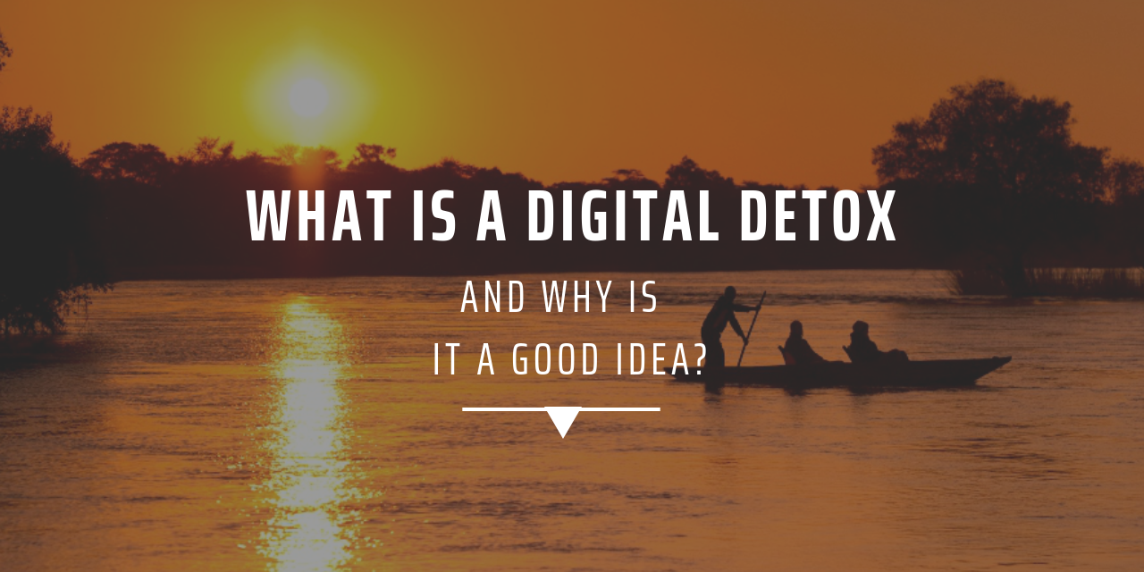 What is a digital detox and why is it a good idea to reduce stress?