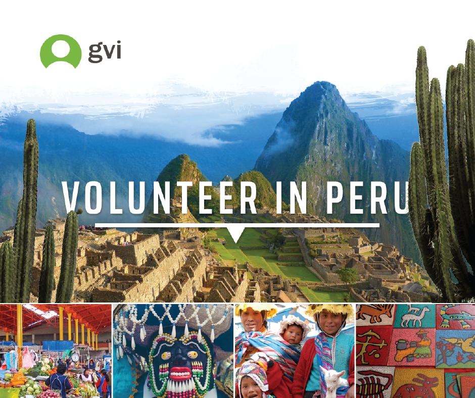 Volunteer in Peru image