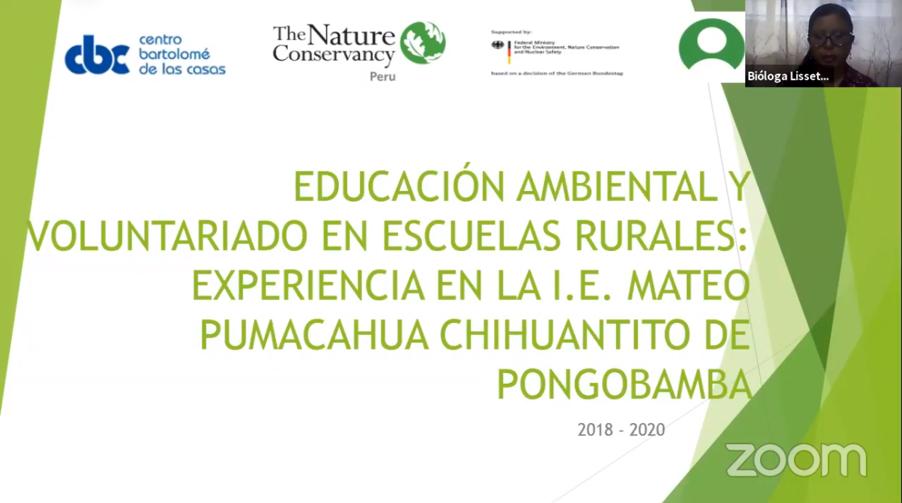 Environmental Education in Rural Schools in Cusco, Peru