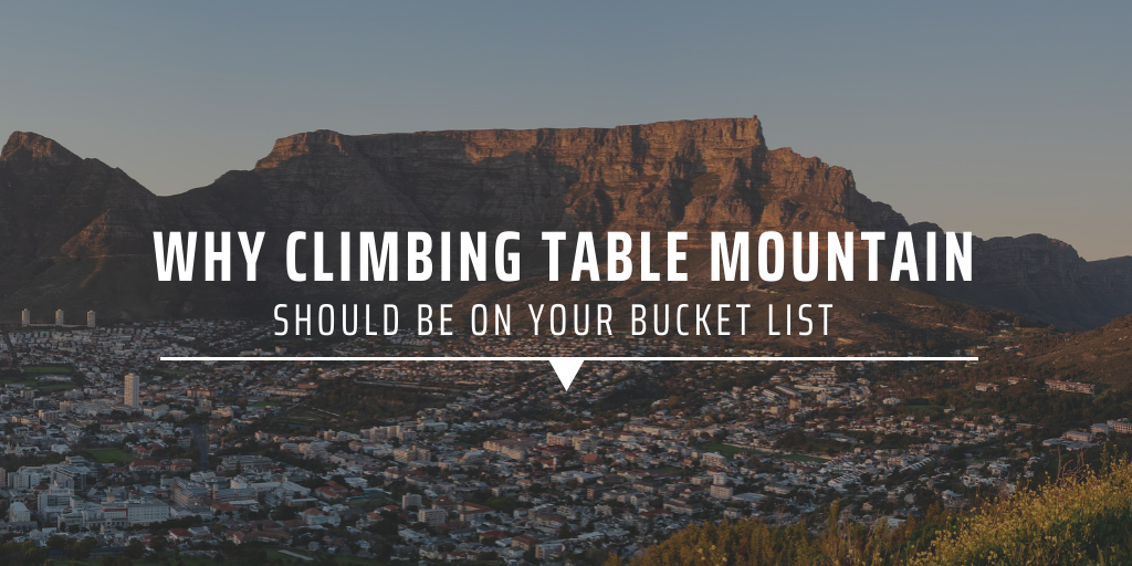 Why climbing Table Mountain should be on your bucket list